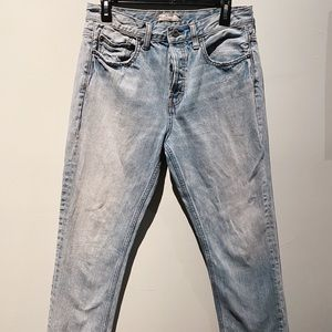 We The Free Straight Leg Vintage Jeans